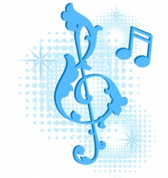 musical symbol vector image vector image