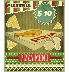 Pizzeria vector image vector image