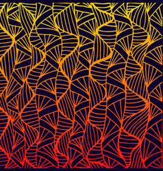 Abstract pattern ethno style stylish background vector