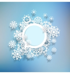 Abstract winter background EPS10 vector image
