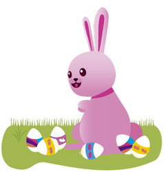 Easter Bunny 7 vector