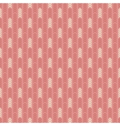 Geometric pattern with arrows Seamless background vector image