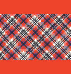 red check pixel plaid seamless pattern vector image