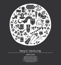 Stpatrick s day invitation or greeting card vector