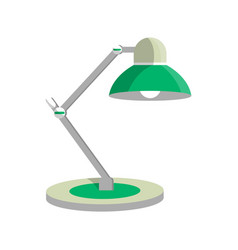 table light lamp icon in flat style vector image