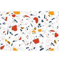 terrazzo background granite flooring seamless vector image