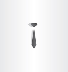 black tie icon design vector image vector image