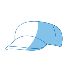 cartoon baseball cap accessory clothes vector image