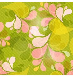 Green and Pink Abstract Background vector image vector image