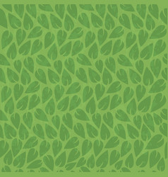 abstract nature green leaf vintage background vector image vector image
