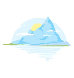 Big Mountains vector image