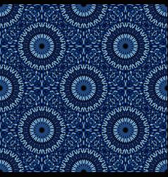 Bohemian geometrical oriental gemstone mandala vector