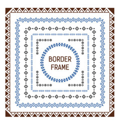 border for your projects in the form of a square vector image