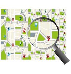 Map design vector