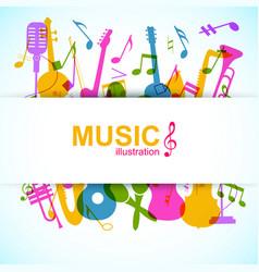 Music design background vector