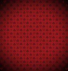 playing poker blackjack cards symbol background vector image