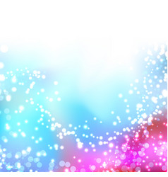 bright colorful shimmering seasonal background vector image vector image