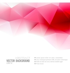 Abstract Geometric Background Design vector image