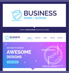Beautiful business concept brand name chain vector