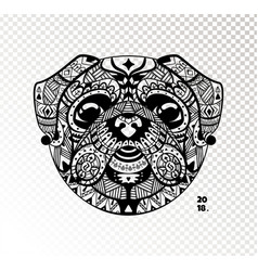dog is a symbol 2018 vector image