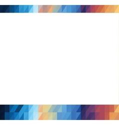blank banner vector image