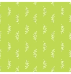 Olive branch pattern vector