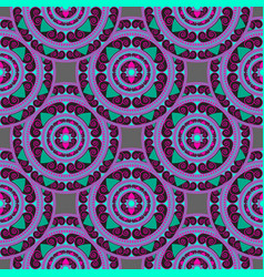 seamless geometric pattern in the oriental style vector image vector image