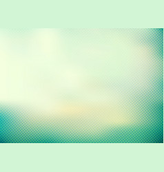 abstract green mint turquoise color smooth vector image