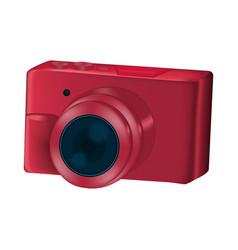 digital camera technology professional equipment vector image