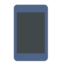 modern tablet icon flat style vector image