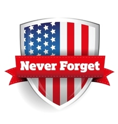 Never Forget - 11 september vector