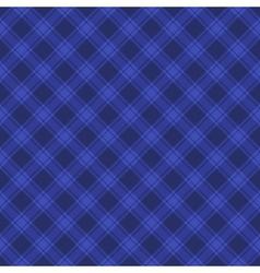 Seamless Blue Fabric Tartan Background vector