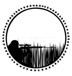 Sniper-1 vector image