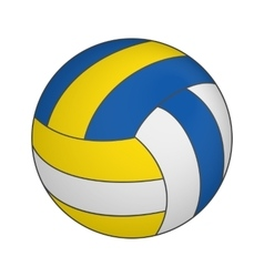 Volleyball 3d isometric icon vector
