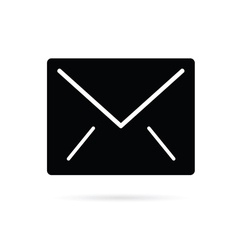 letter envelope icon vector image vector image