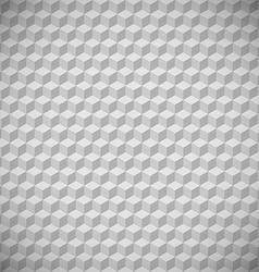3D squares abstract background Gray colors vector image