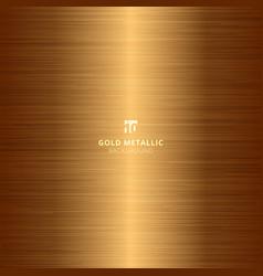 Gold metallic metal polished background vector