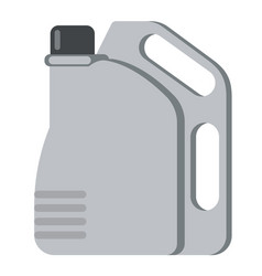 jerrycan flat on white vector image