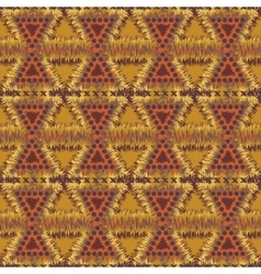 Seamless tribal patterns vector