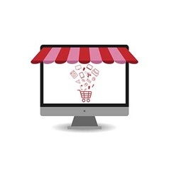 Shopping Online1 vector