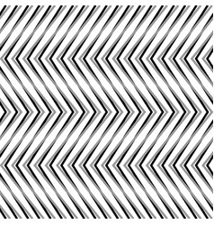 Zigzag corrugated serrated lines dynamic vector