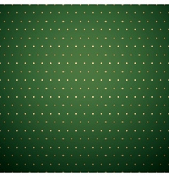 Dark green background with yellow polka dot vector image