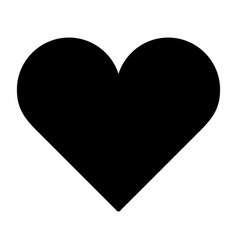 heart icon love symbol valentines day sign vector image vector image