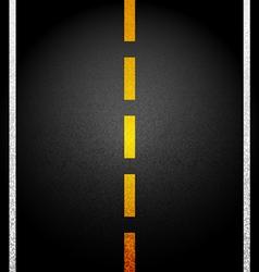 Background Asphalt road vector