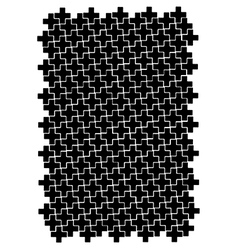 Cross block pattern vector