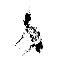 Map philippines isolated vector