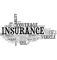 What to look for in a full coverage car insurance vector