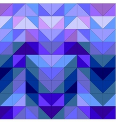 Seamless blue wrapping pattern or tile background vector image vector image