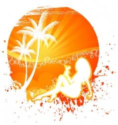 blot exotic vector image vector image