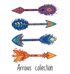 indian ethnic arrows vector image